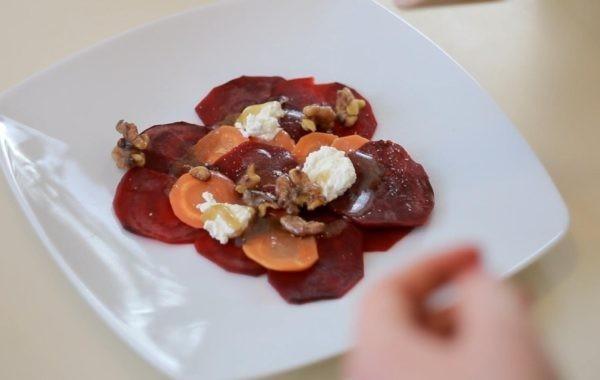 Kuchnia z klimatem: Carpaccio z buraka