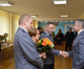 Pożegnanie Komendanta Miejskiego Policji w Białej Podlaskiej