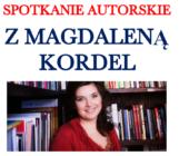 Spotkanie autorskie z Magdaleną Kordel
