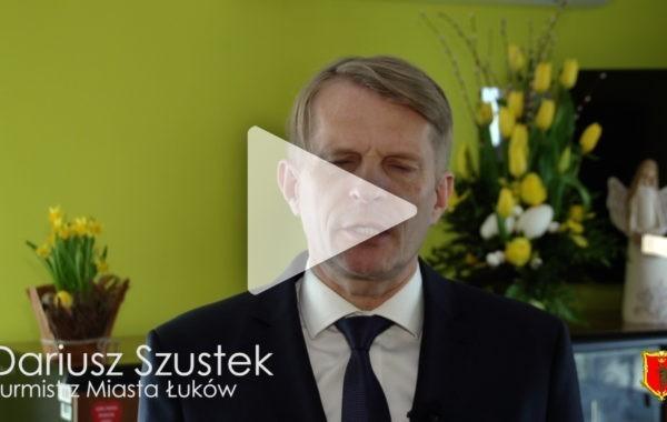 Życzenia wielkanocne od Burmistrza i Przewodniczącego Rady Miasta Łuków