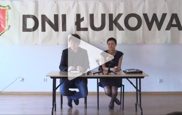 Konferencja prasowa w sprawie Dni Łukowa 2017