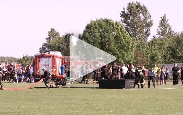 Powiatowe zawody strażackie w Rykach