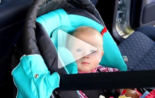 Darmowe porady z zakresu bezpieczeństwa dzieci w samochodzie