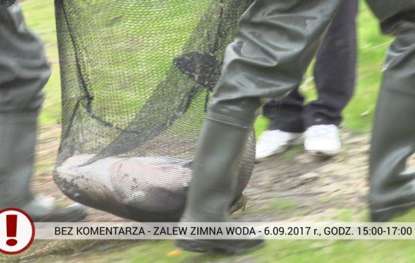 BEZ KOMENTARZA – Zalew Zimna Woda – 6.09.2017 r.
