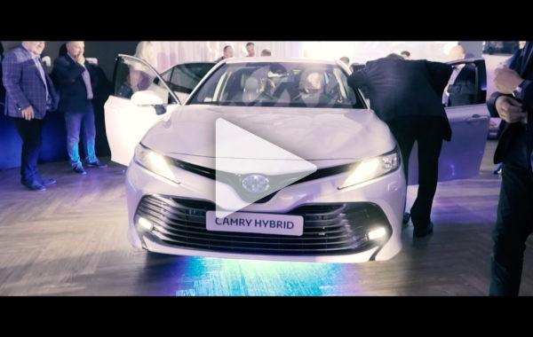 Premiera nowej Toyoty Camry w Siedlcach