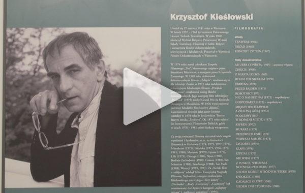 Wystawa twórczości Krzysztofa Kieślowskiego w ŁOK