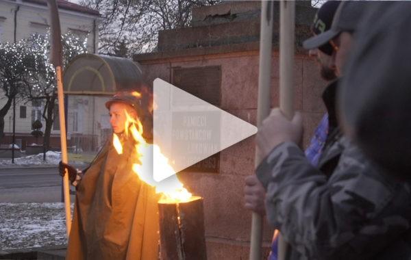 Łukowskie obchody 156  rocznicy wybuchu Powstania Styczniowego