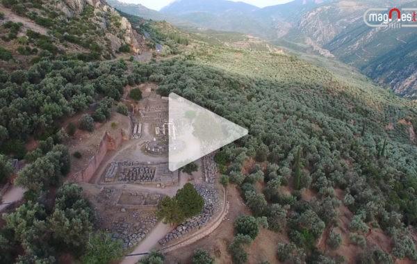 Wspomnienia z wakacji Telewidzów – Delfy – prastare miasto w Grecji