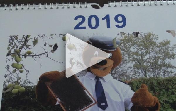 Podsumowanie sprzedaży kalendarzy przez łukowskich policjantów