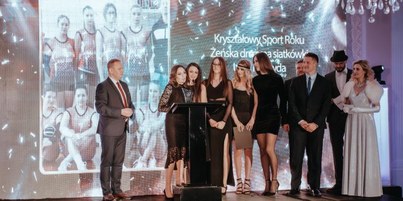 I miejsce w kategorii Sport zajęła Żeńska drużyna siatkówki Unia Krzywda!