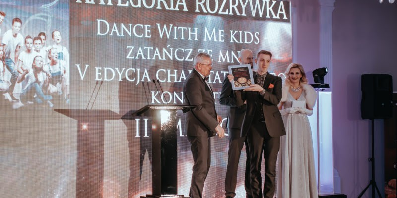 Rozstrzygnięcie kategorii Rozrywka! Na trzecim miejscu Dance with me KIDS!