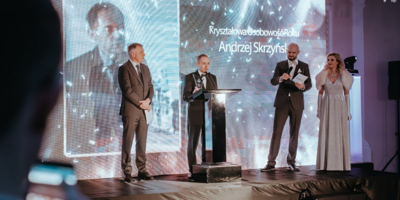 Kryształową Osobowością roku został Andrzej Skrzyński!