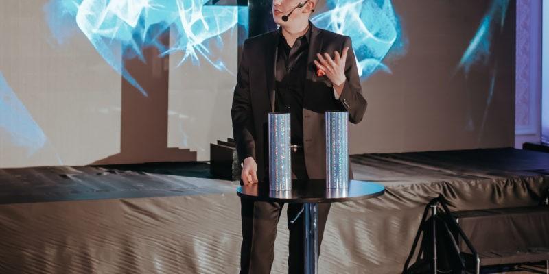 Iluzjonista Arek Włodarczyk wprowadził iście magiczny klimat!