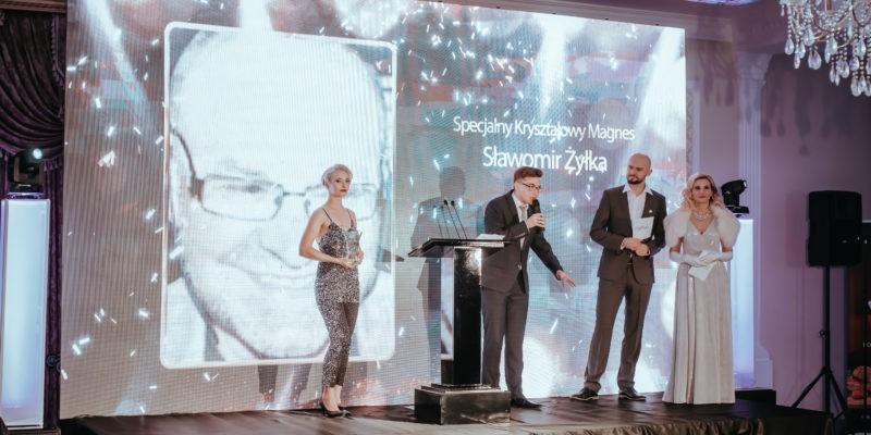 Kacper Siwiak uświetnił odebranie nagrody dla Sławomira Żyłki pokazując nam swój ogromny talent do recytacji!