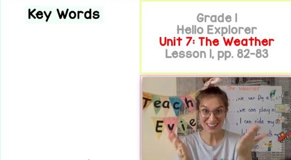 The Weather: Klasa I (Lekcja 1/3) | Angielski dla dzieci