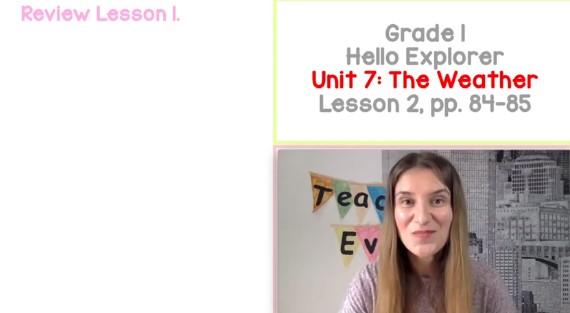 The Weather: Klasa I (Lekcja 2/3) | Angielski dla dzieci