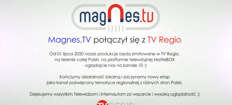 Magnes.TV połączył się z TV Regio